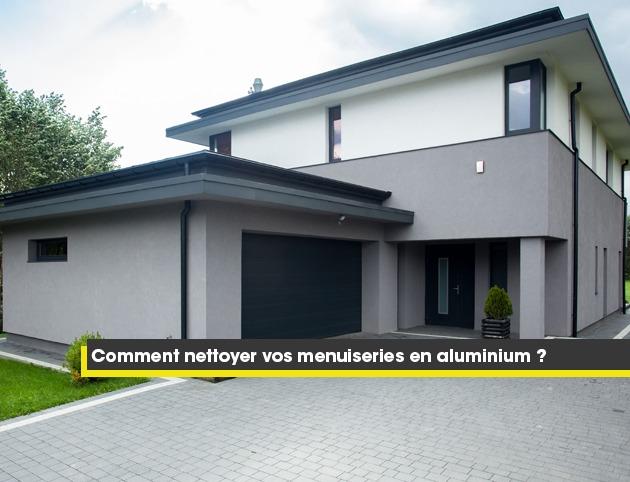 comment nettoyer vos menuiseries en aluminium laqu. Black Bedroom Furniture Sets. Home Design Ideas