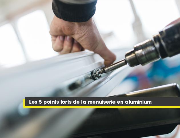 les 5 points forts de la menuiserie en aluminium