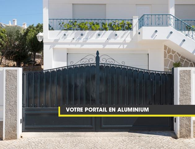 Tout savoir sur le portail en aluminium, par Nord Menuiserie Diffusion