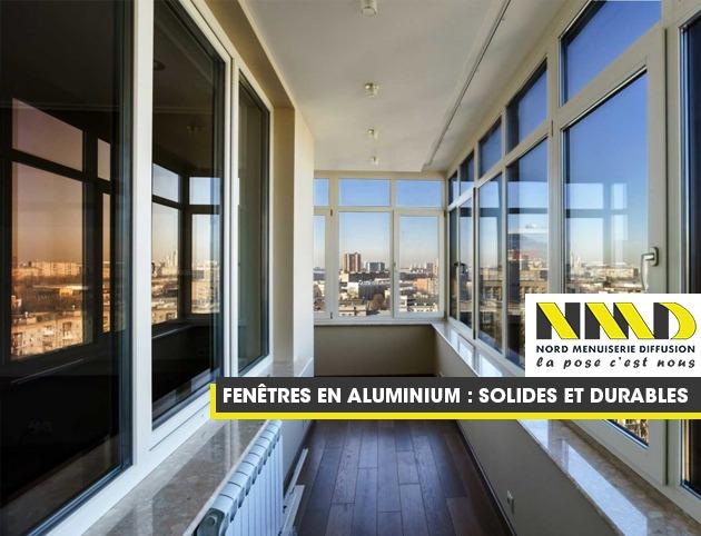 Les fenêtres en aluminium par Nord Menuiserie Diffusion